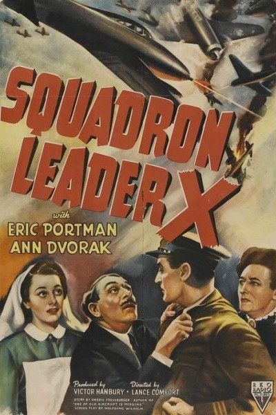 Caratula, cartel, poster o portada de Squadron Leader X
