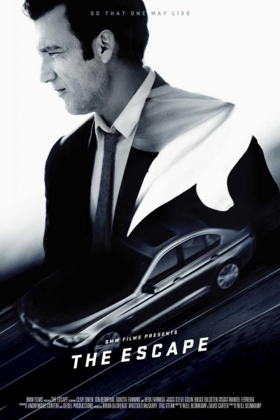 Caratula, cartel, poster o portada de The Escape