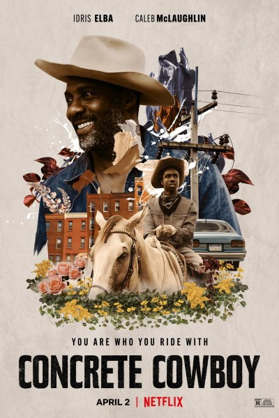 Caratula, cartel, poster o portada de Concrete Cowboy