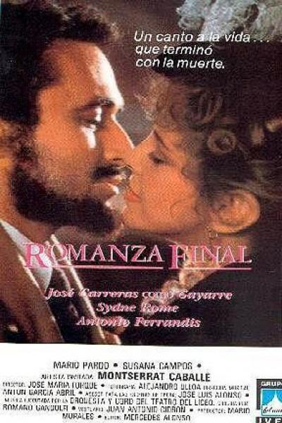 Caratula, cartel, poster o portada de Romanza final (Gayarre)