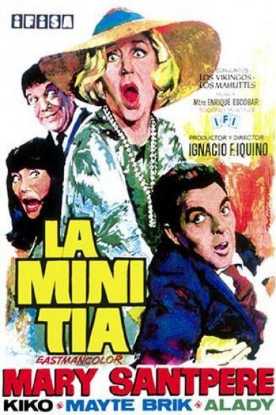 Caratula, cartel, poster o portada de La mini tía
