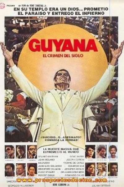 Caratula, cartel, poster o portada de Guyana, el crimen del siglo