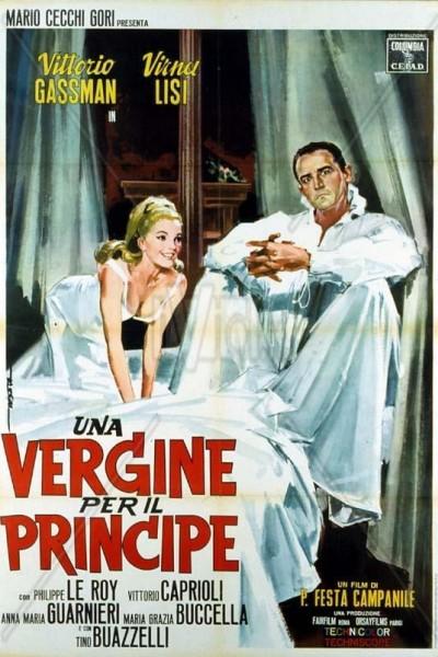 Caratula, cartel, poster o portada de Una doncella para un gran señor