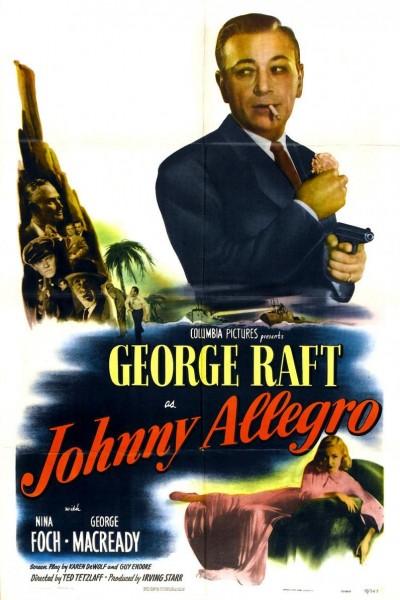 Caratula, cartel, poster o portada de Johnny Allegro