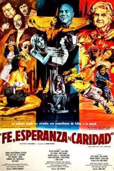 Caratula, cartel, poster o portada de Fe, esperanza y caridad
