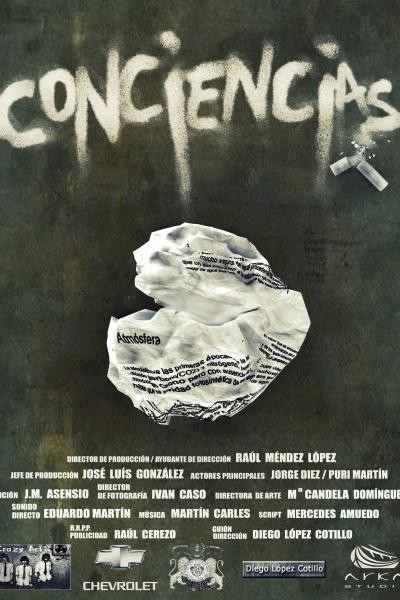 Caratula, cartel, poster o portada de Conciencias