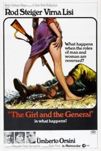 Caratula, cartel, poster o portada de La muchacha y el general