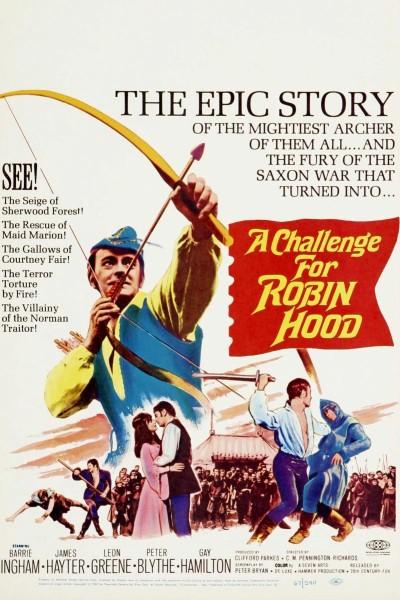 Caratula, cartel, poster o portada de Un desafío para Robin Hood