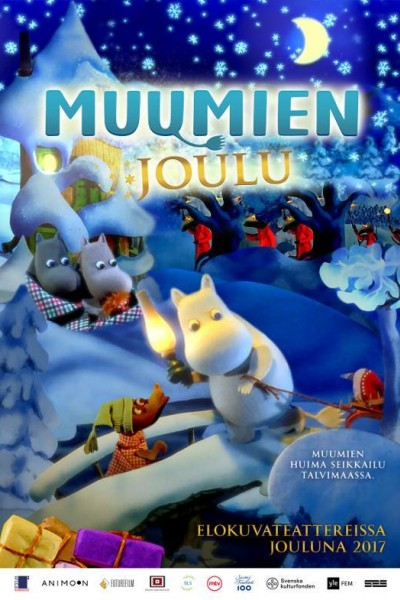 Caratula, cartel, poster o portada de Moomins and the Winter Wonderland
