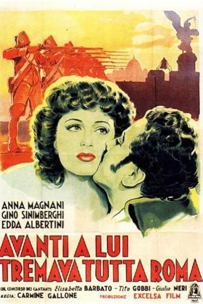 Caratula, cartel, poster o portada de Avanti a lui tremava tutta Roma