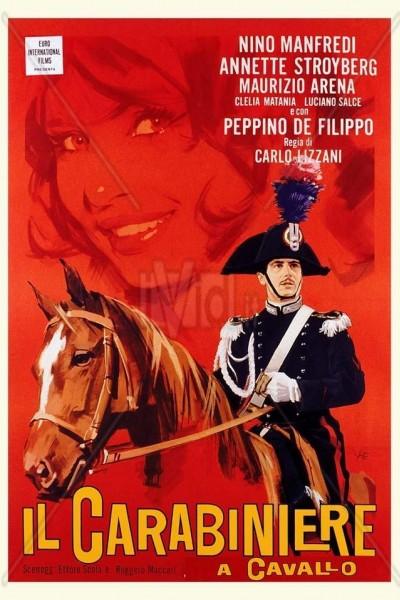 Caratula, cartel, poster o portada de Il carabiniere a cavallo