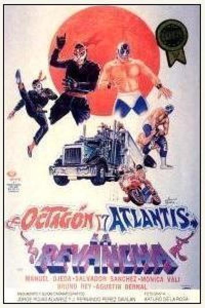 Caratula, cartel, poster o portada de Octagon y Atlantis, la revancha