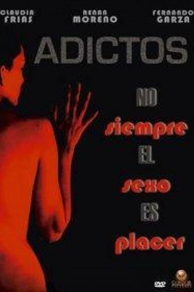 Caratula, cartel, poster o portada de Adictos