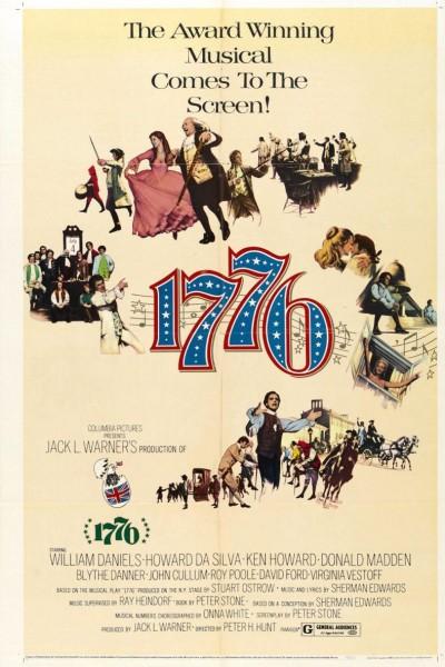 Caratula, cartel, poster o portada de 1776