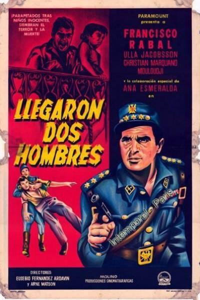 Caratula, cartel, poster o portada de Llegaron dos hombres