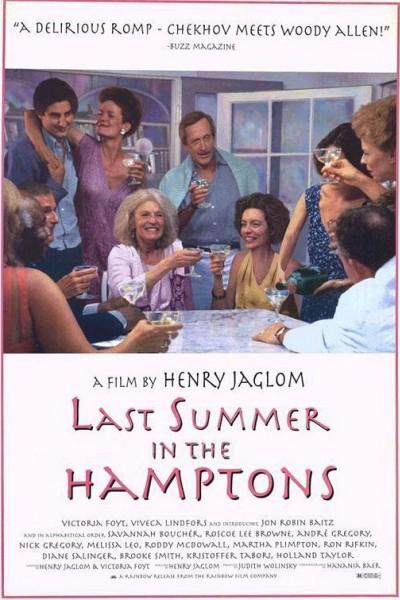 Caratula, cartel, poster o portada de Last Summer in the Hamptons