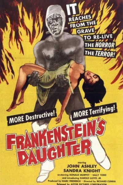 Caratula, cartel, poster o portada de La hija de Frankenstein