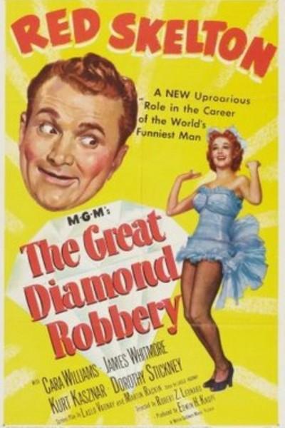 Caratula, cartel, poster o portada de El robo del diamante azul