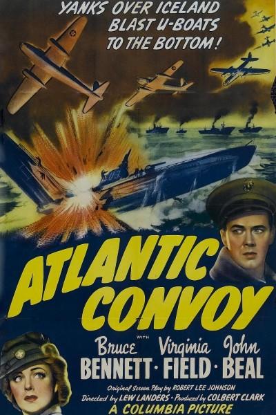 Caratula, cartel, poster o portada de Atlantic Convoy