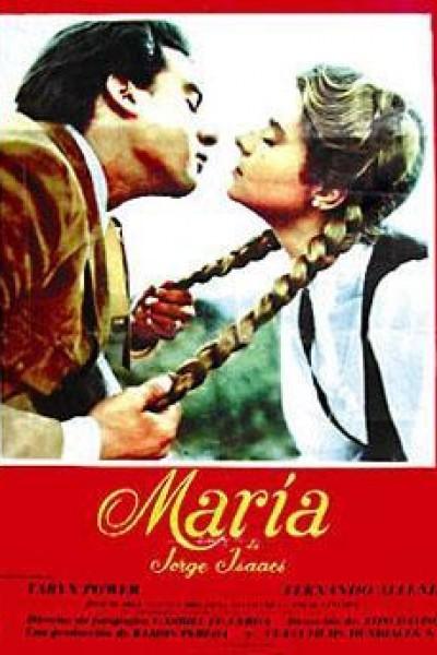 Caratula, cartel, poster o portada de María