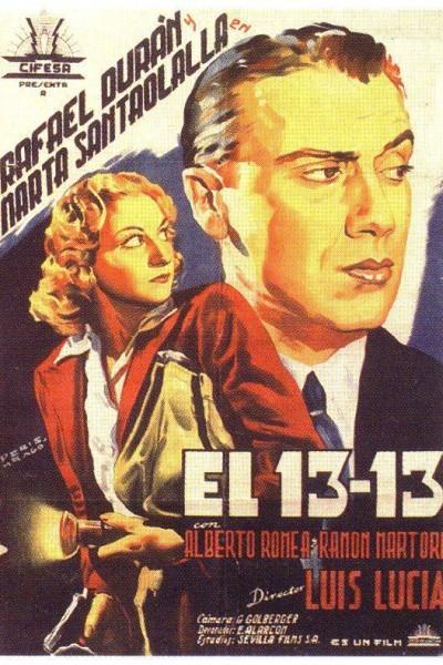 Caratula, cartel, poster o portada de El 13-13