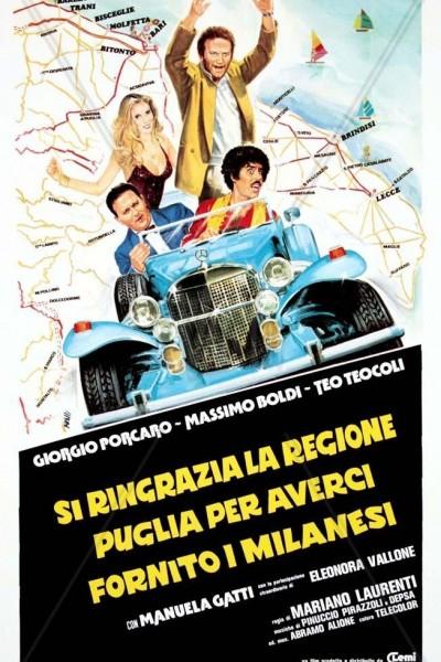 Caratula, cartel, poster o portada de Si ringrazia la regione Puglia per averci fornito i milanesi