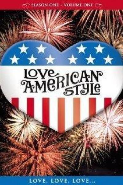 Caratula, cartel, poster o portada de Amor a la americana