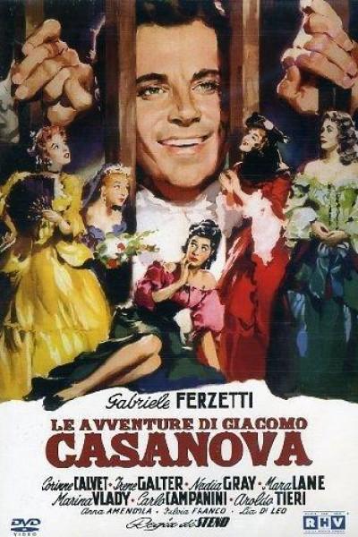 Caratula, cartel, poster o portada de Le avventure di Giacomo Casanova