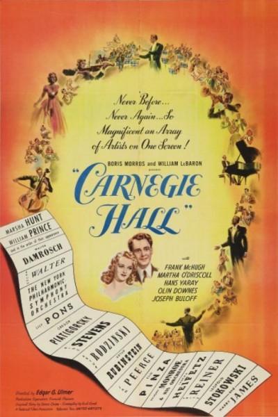 Caratula, cartel, poster o portada de Carnegie Hall