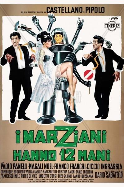 Caratula, cartel, poster o portada de Llegaron los marcianos