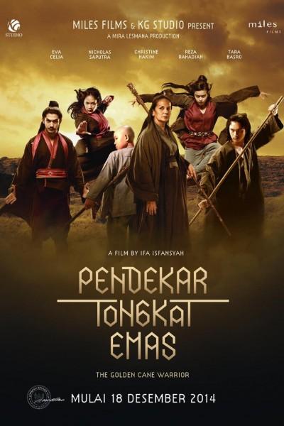 Caratula, cartel, poster o portada de The Golden Cane Warrior