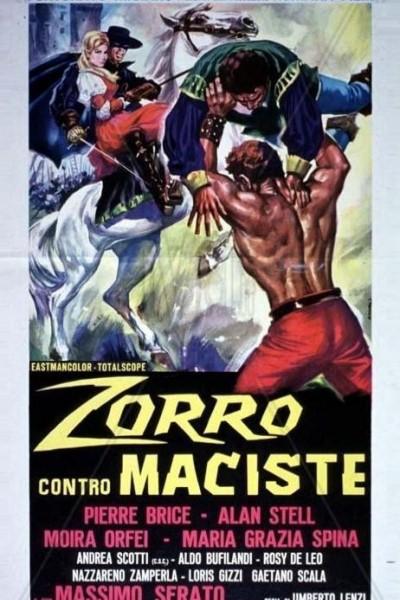 Caratula, cartel, poster o portada de El Zorro contra Maciste