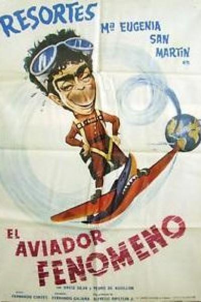 Caratula, cartel, poster o portada de El aviador fenómeno