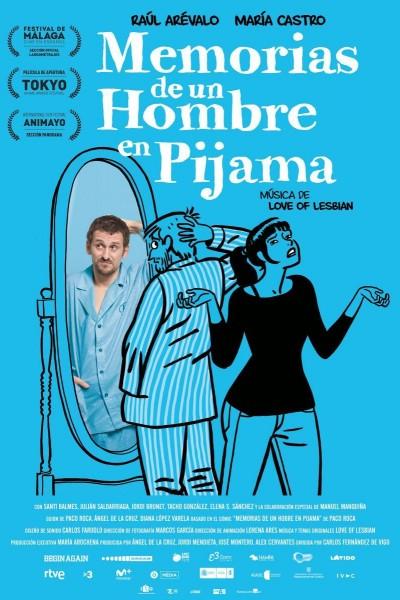 Caratula, cartel, poster o portada de Memorias de un hombre en pijama