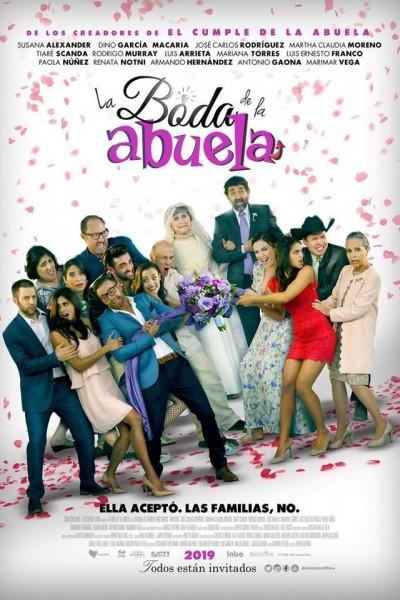 Caratula, cartel, poster o portada de La boda de la abuela