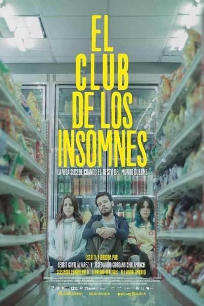 Caratula, cartel, poster o portada de El club de los insomnes