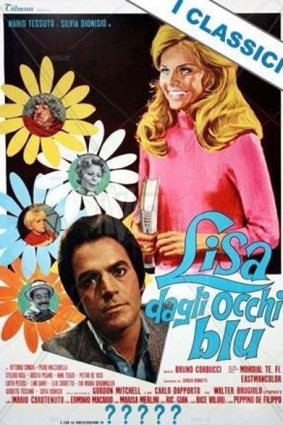 Caratula, cartel, poster o portada de Lisa dagli occhi blu