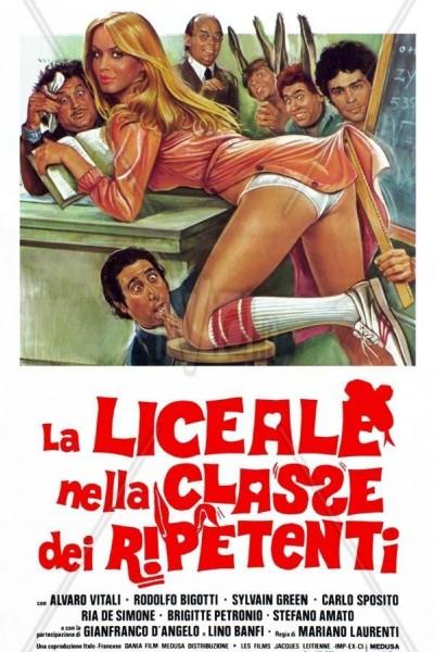 Caratula, cartel, poster o portada de La estudiante en la clase de los suspensos