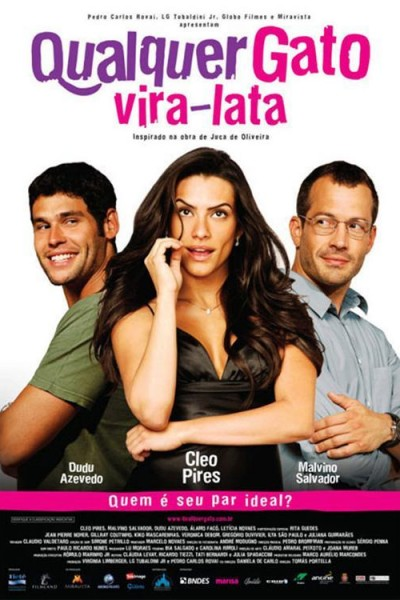 Caratula, cartel, poster o portada de Qualquer Gato Vira-Lata