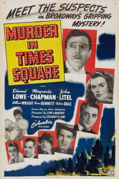 Caratula, cartel, poster o portada de Murder in Times Square