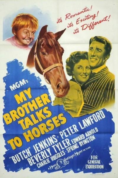 Caratula, cartel, poster o portada de My Brother Talks to Horses