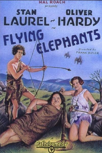 Caratula, cartel, poster o portada de Flying Elephants