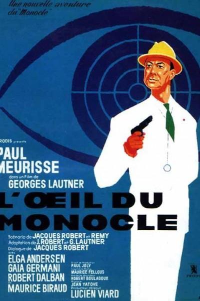 Caratula, cartel, poster o portada de L\'oeil du monocle