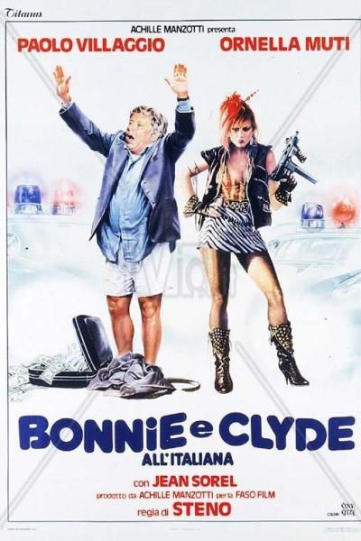 Caratula, cartel, poster o portada de Bonnie y Clyde a la italiana