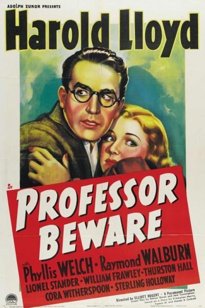 Caratula, cartel, poster o portada de Professor Beware