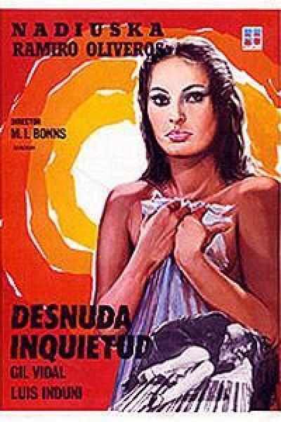 Caratula, cartel, poster o portada de Desnuda inquietud