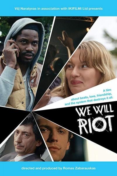 Caratula, cartel, poster o portada de We Will Riot