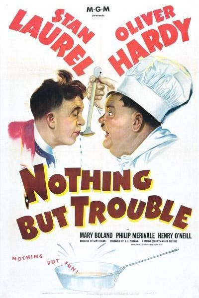 Caratula, cartel, poster o portada de Nothing But Trouble