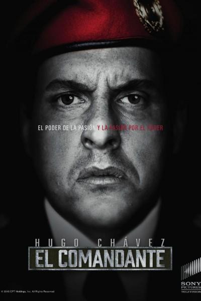 Caratula, cartel, poster o portada de El Comandante: la vida secreta de Hugo Chávez