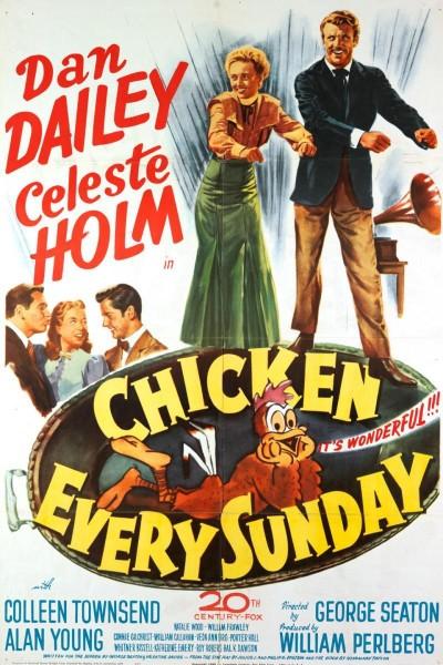 Caratula, cartel, poster o portada de Chicken Every Sunday
